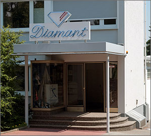 Diamant Schuhfabrik in Bad Soden am Taunus.